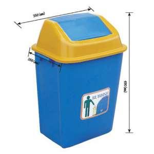20L 塑料垃圾桶,家用垃圾桶